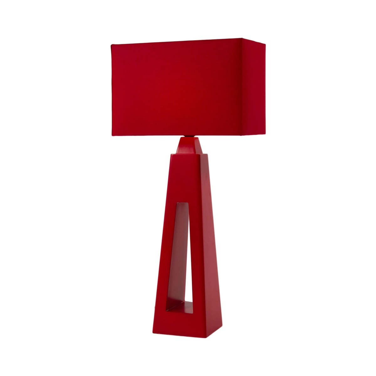 Intensity Table Lamp - Red Shangrilla
