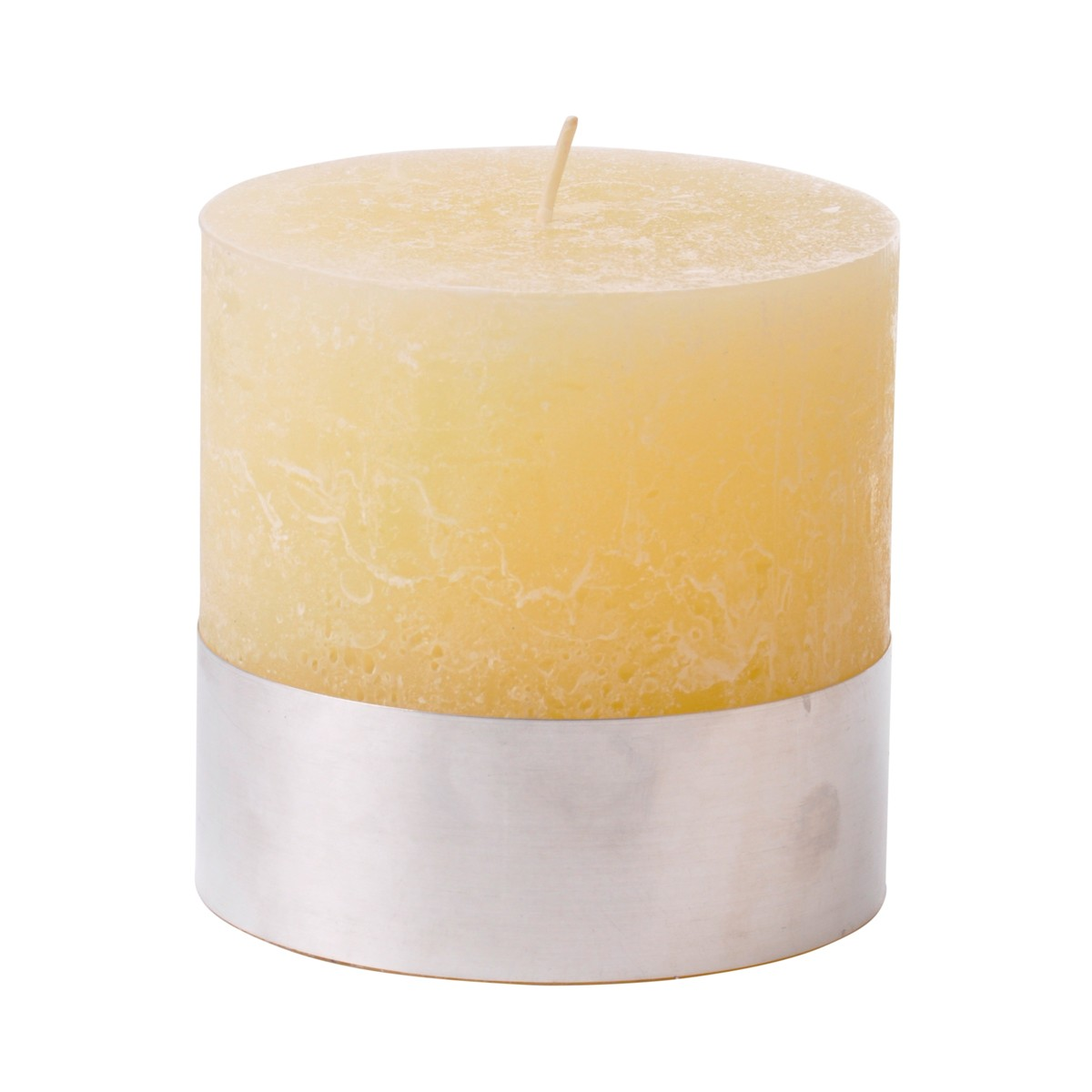 Angel Sand - Small Cream Pillar Candle