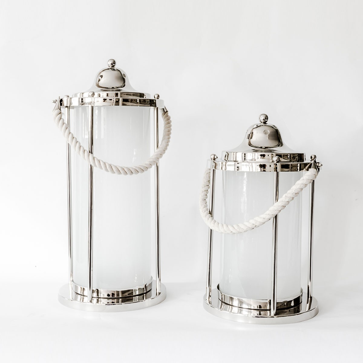 Grace - Aluminium and Glass Decorative Lantern