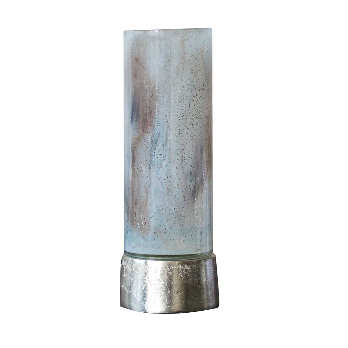 Theo - Candle Holder Aluminium and Glass