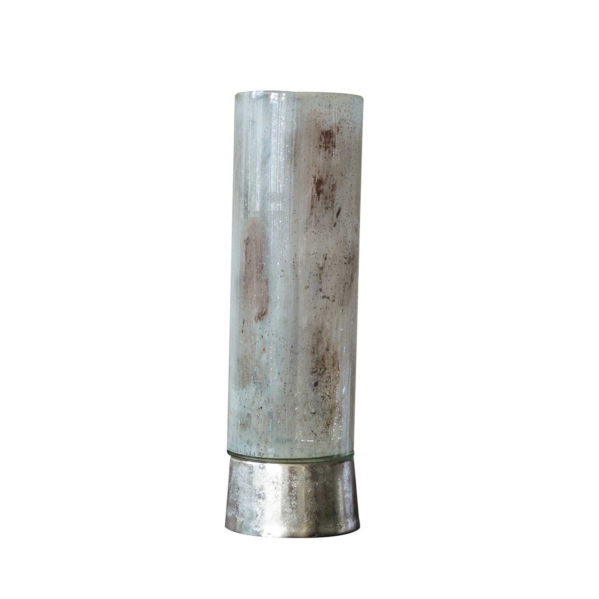 Theo Large - Candle Holder Aluminium and Glass