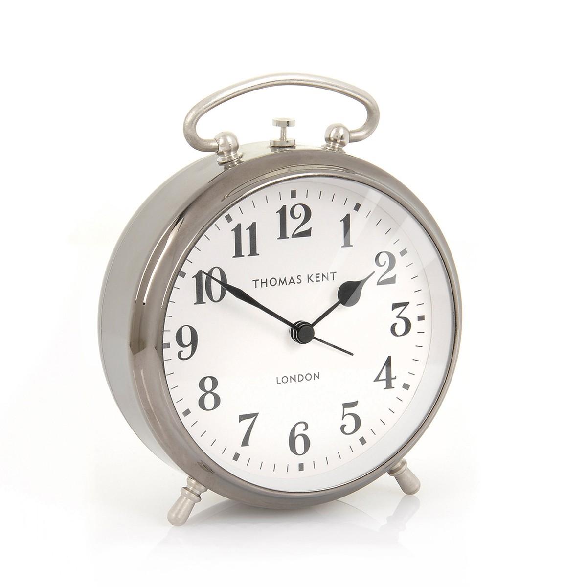 Ari - Silver Alarm Clock