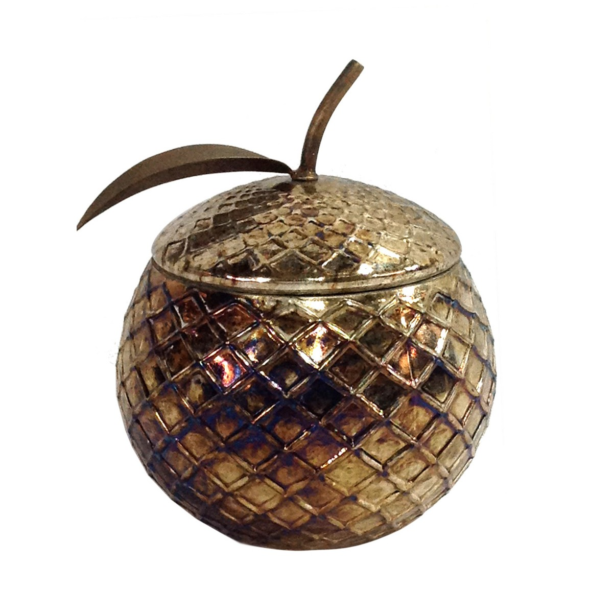 Eve - Gold and Glass Apple Jar