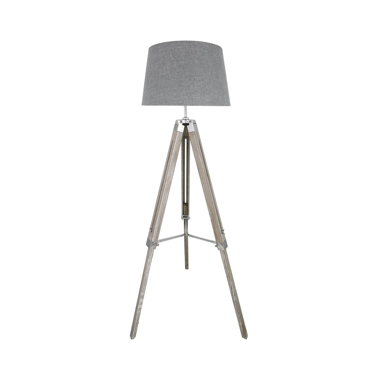Ray - Grey Tripod Floor Lamp