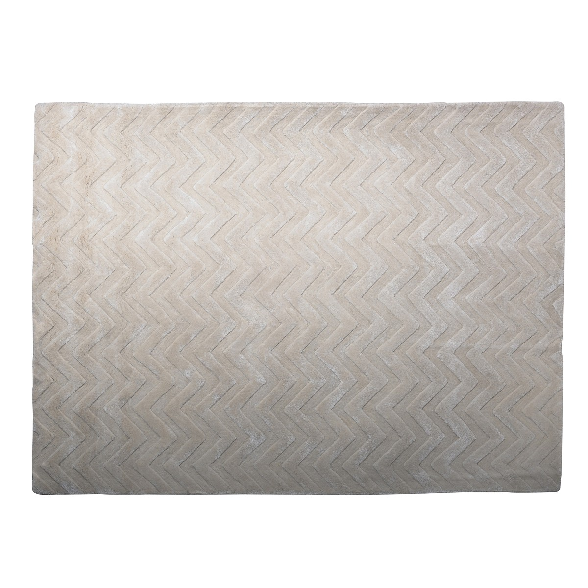 Alban -  Chevron Rug in Ivory