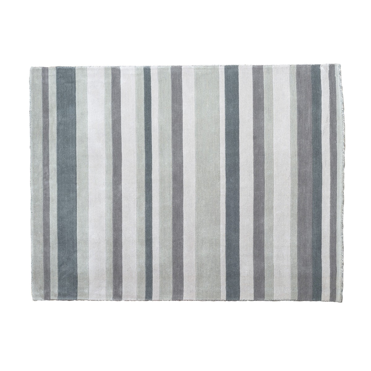 Lavender -  Multi stripe design Rug in Greys