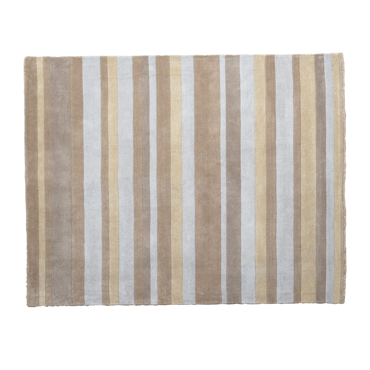Rose -  Multi stripe  Design Rug in Neutrals