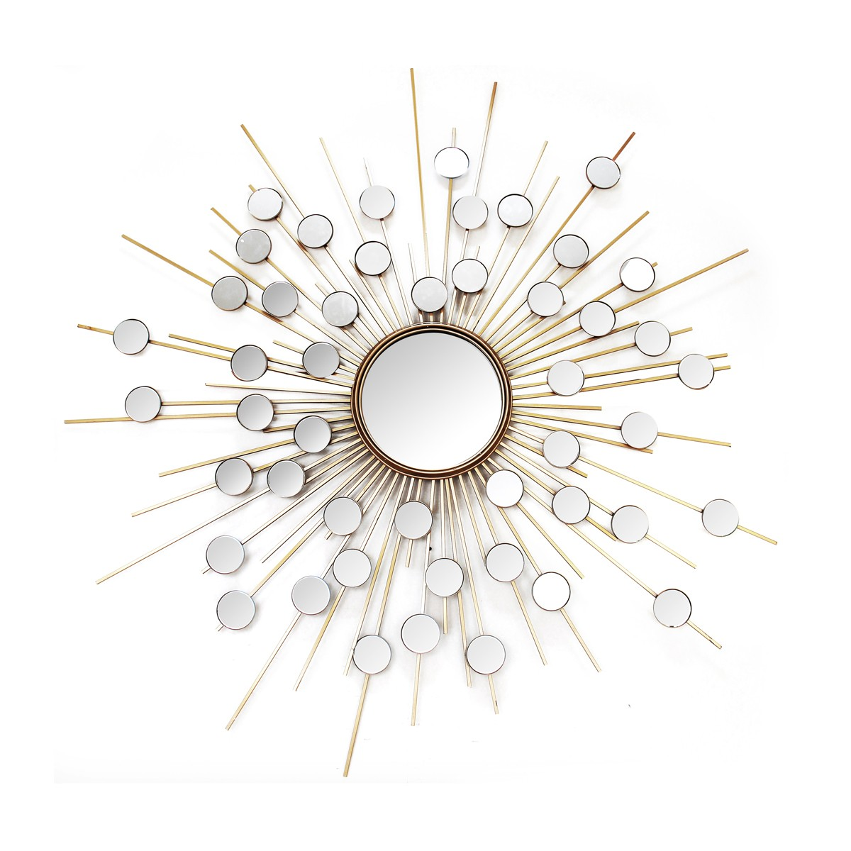 Bejeweled - Circular Decorative Mirror