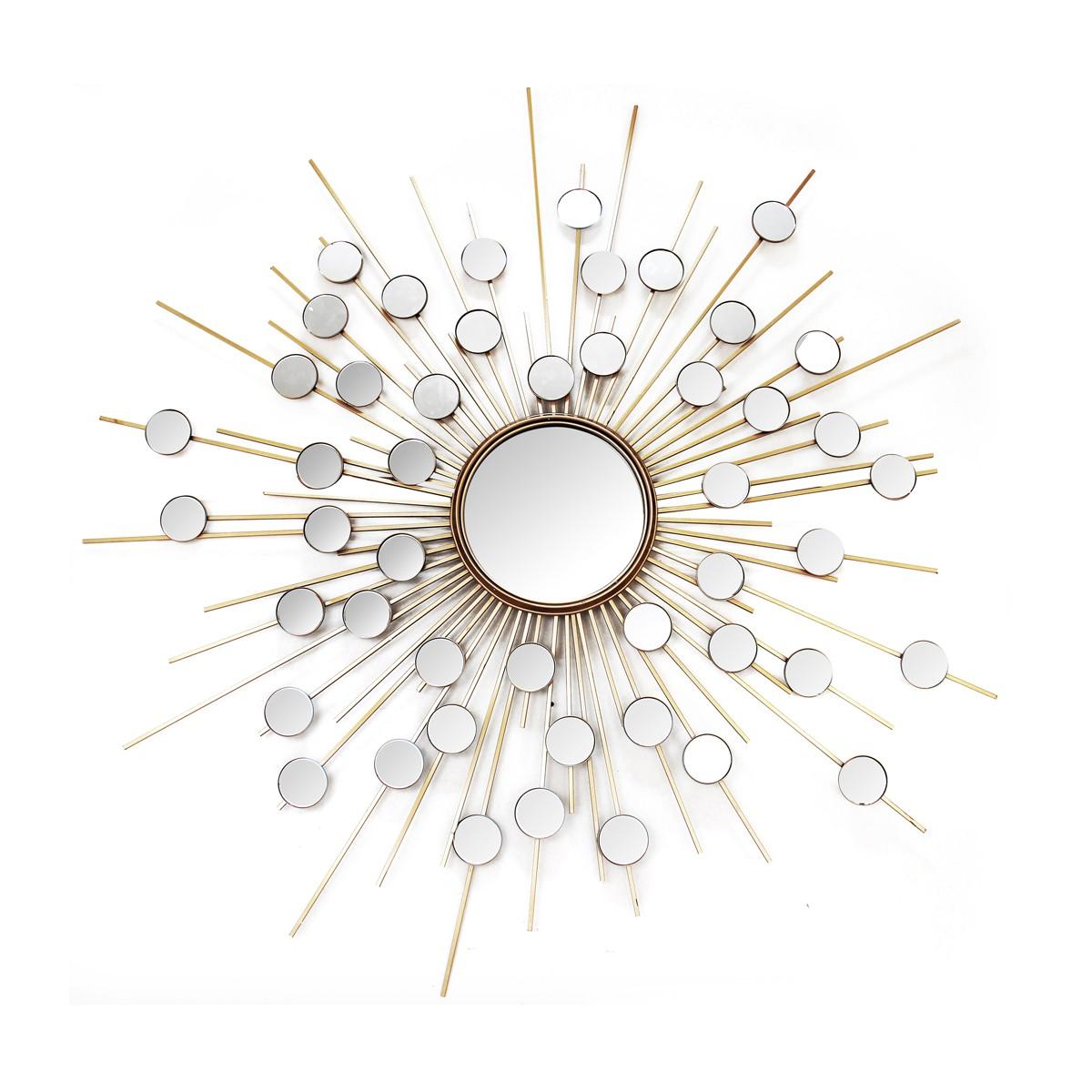 Bejeweled - Circular Decorative Mirror