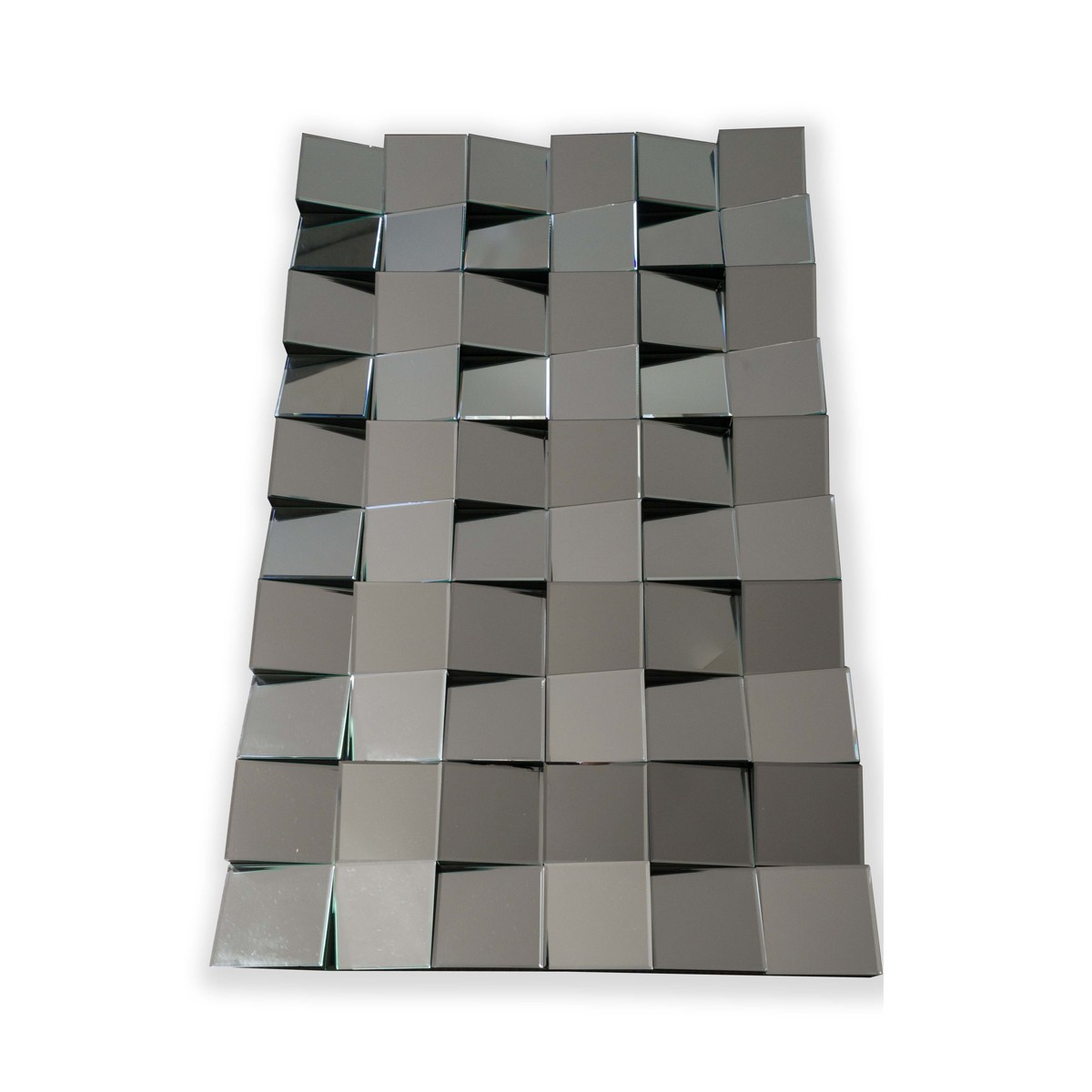 Fritz - Flattering Angled Block Mirror  (Rectangle)