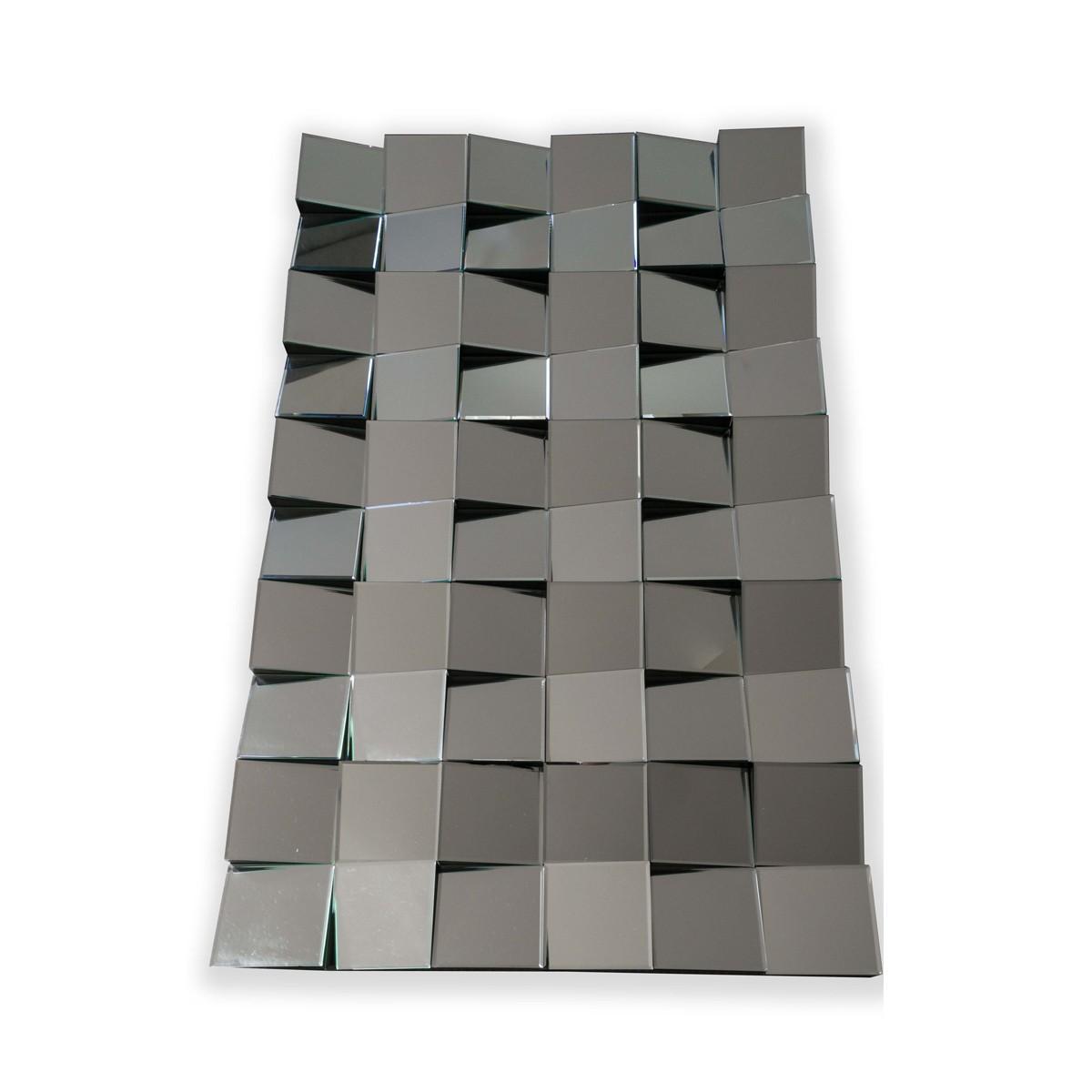 Fritz - Flattering Angled Block Mirror  (Rectangle)
