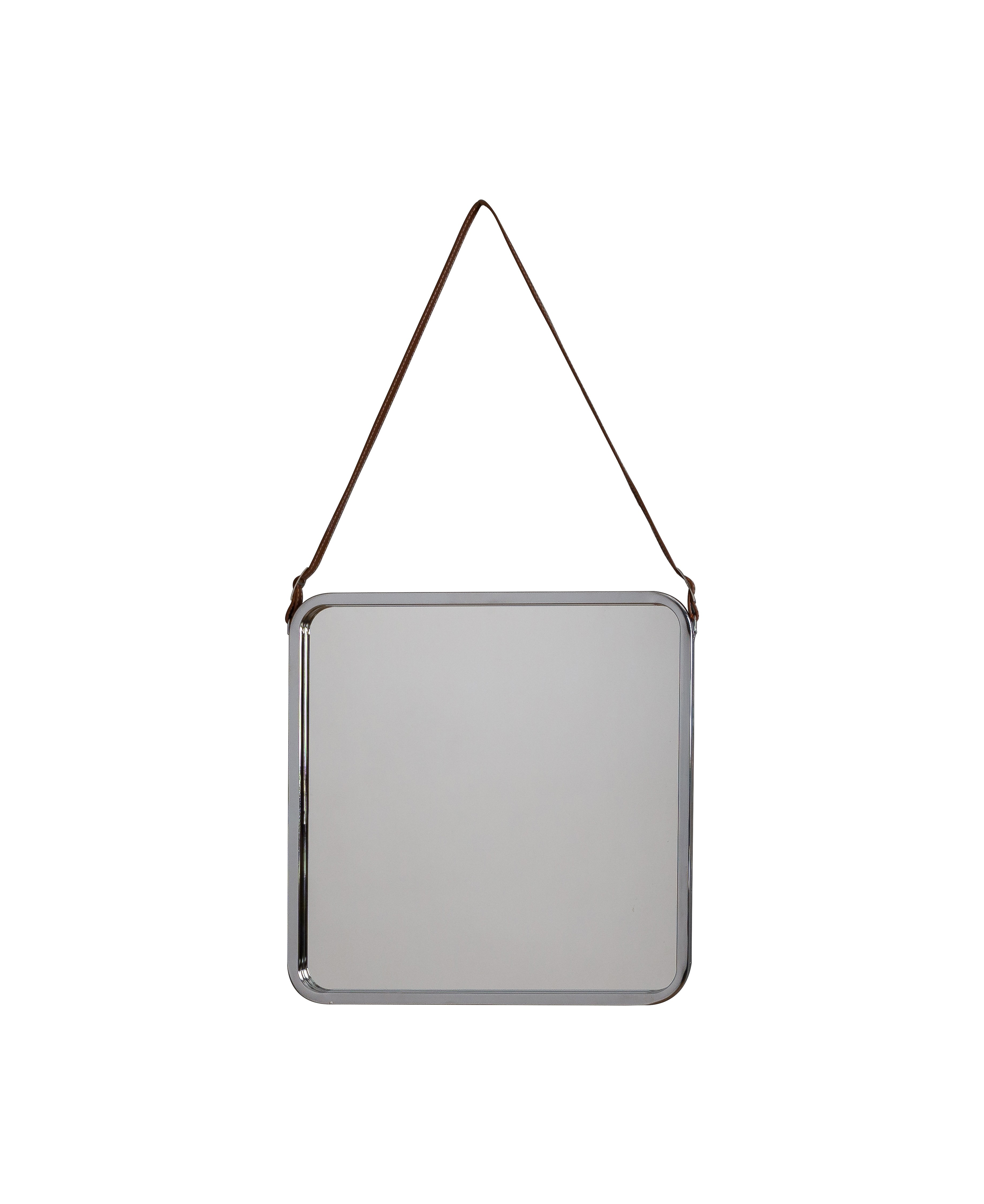Freda Industrial Square Mirror