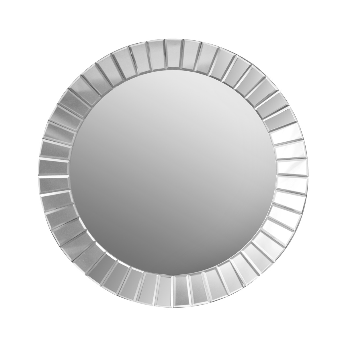 Echo - Round Bevelled Mirror