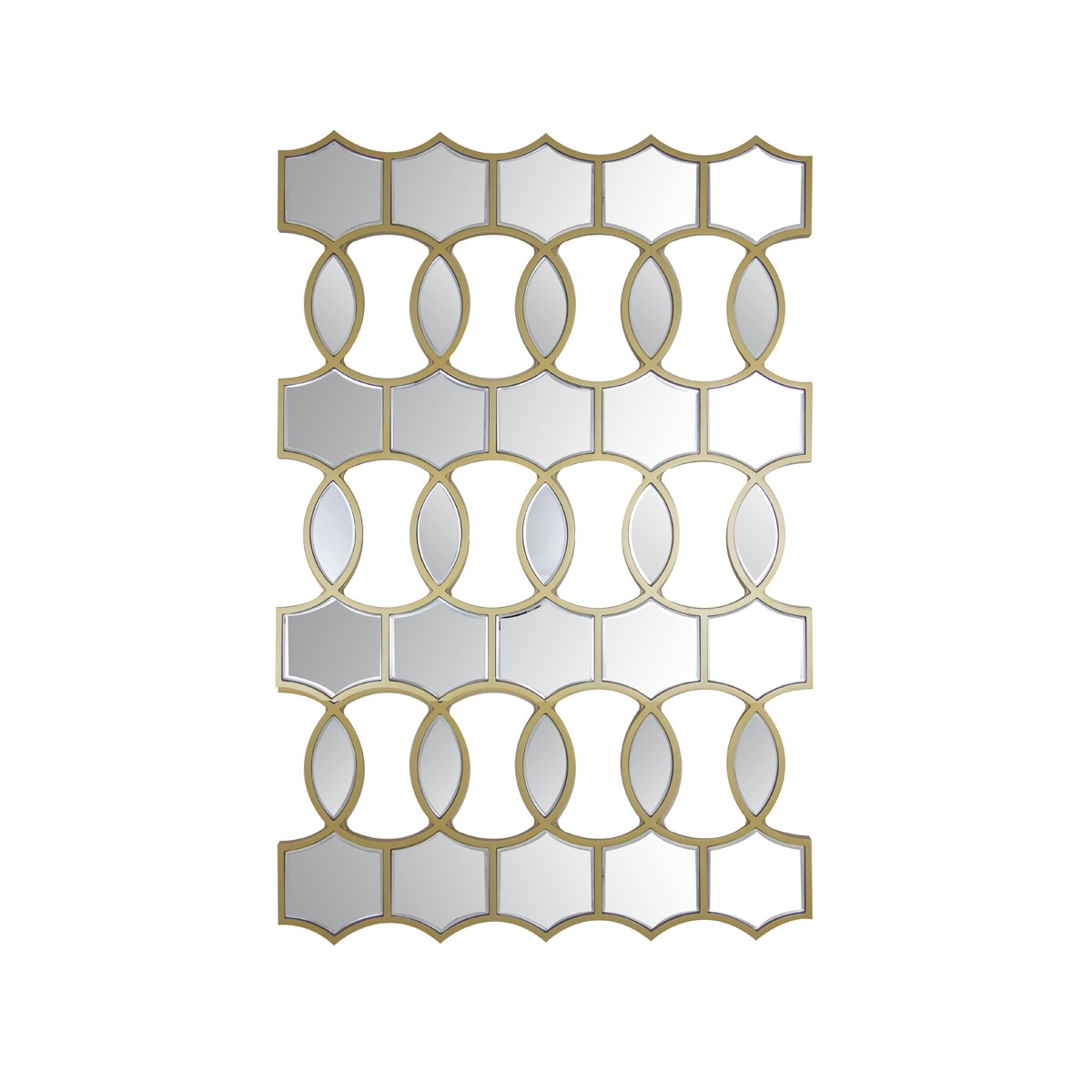 Nested Circles Wall Mirror
