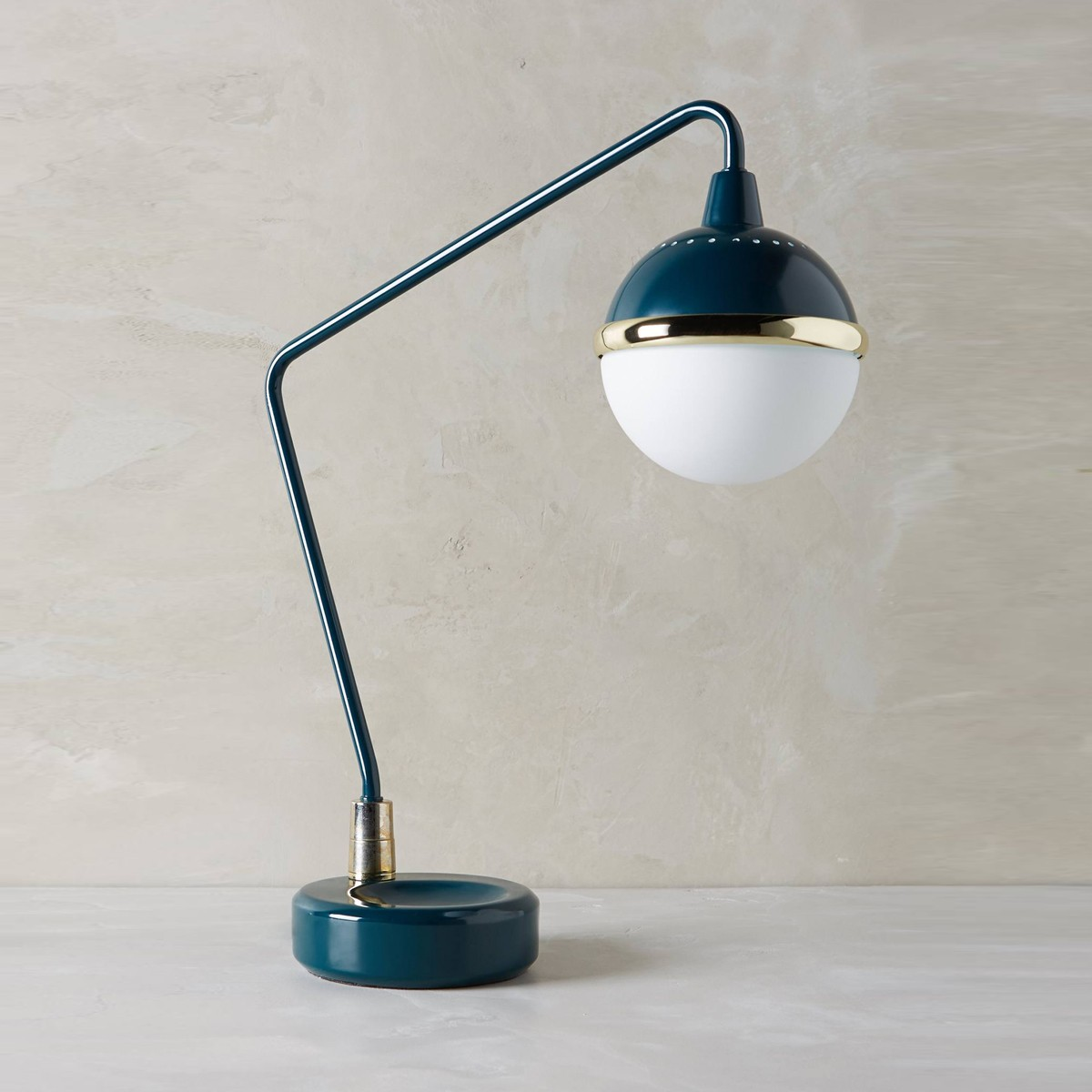 Eden - Black Accented Task Lamp