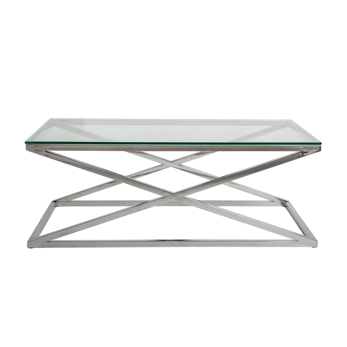 Stainless Steel Polished Coffee Table