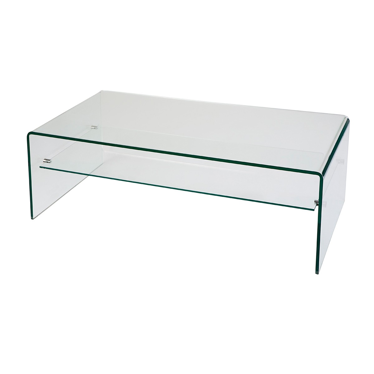 Chelsea coffee table with clear glass coffee table Clear coffee table