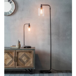 Room Featuring Scandi Tall Floor Lamp