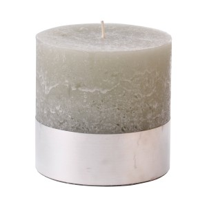 Angel Natural - Small Stone Pillar Candle