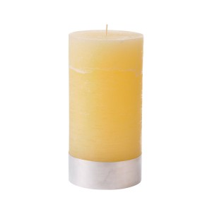 Angel Sand - Large Cream Pillar Candle