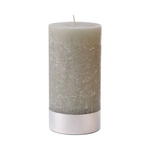 Large Stone Pillar Candle