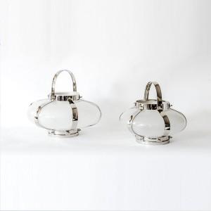 Faith - Aluminium and Glass Decorative Lantern