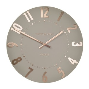 Alice Rose Gold Wall Clock