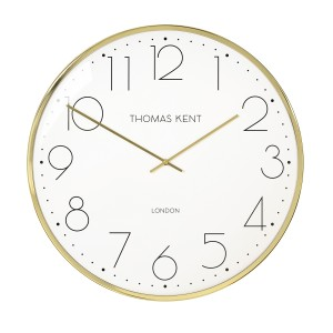 Gold Round Wall Clock