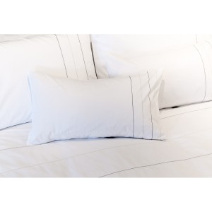 Adore - Fine Multi Stitch Stripes Bodouir Pillow Case