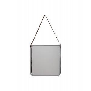 Freda Industrial Square Mirror.
