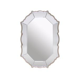 Rococo -  Decorative Metal and Glass Mirror