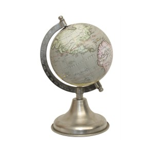 Orb - Light Green Globe with Stand