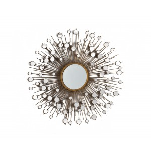 Peacock  Round  Decorative Mirror