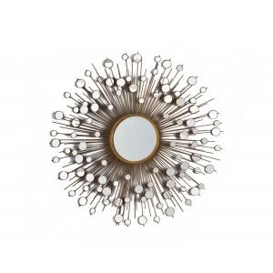 Peacock  Round  Decorative Mirror