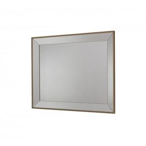 Rectangular Frameless Bevelled Wall Mirror