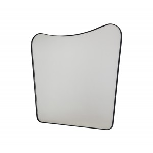 Katrine Wavy Mirror with Metal Frame