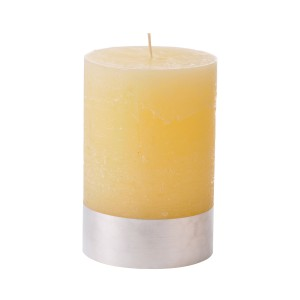 Angel Sand - Medium Cream Pillar Candle