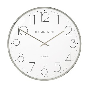 Bay Silver Clock