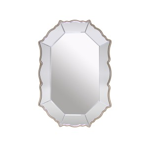 Rococo -  Decorative Metal and Glass Mirror