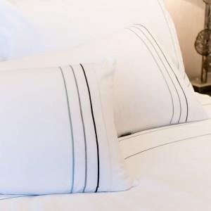 Entice - Multi Stitch Stripes Bodouir Pillow Case