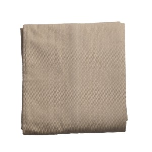 Fern - Beige panel throw - Single