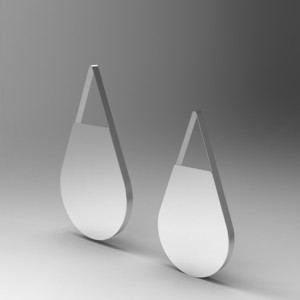 Teardrop - Mirror Stainless Steel Polishing