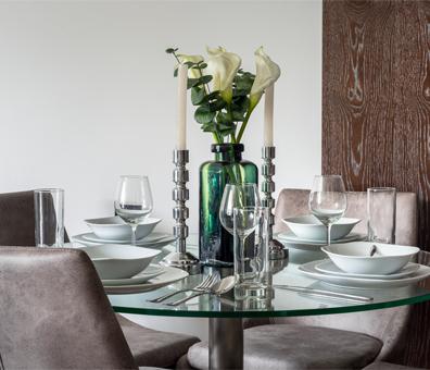 decorative vases & candle